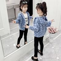 儿童女孩洋气宽松洋气外套2019年新款韩版秋季女童毛衣外套
