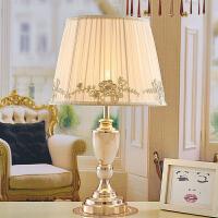 田园蕾丝欧式卧室台灯创意公主婚庆浪漫温馨床头灯韩式粉色礼物
