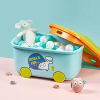 babycare宝宝玩具收纳箱大容量衣服储物整理箱玩具零食置物储物箱