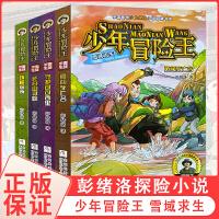 少年冒险王 雪域求生套装全套4册二年级青少年男孩探险小说儿童冒险故事书6-8-10-12岁小学三四年级课外书必读 小学生