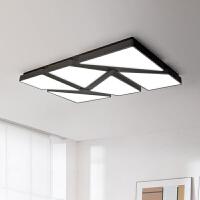 【品牌特惠】LED吸顶灯卧室灯简约现代个性创意餐厅书房灯具长方形北欧客厅灯