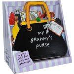 英文原版儿童3D立体书My Granny's Purse 奶奶的手提包皮包 立体造型操作书 儿童启蒙学习 边玩边学 亲