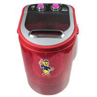 YOKO 迷你洗衣机 XPB40-288/2008 小洗衣机 4.0KG小洗衣机 洗脱两用 双旋钮开关