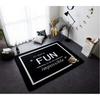 地毯客厅ins北欧潮牌地毯加厚客厅茶几沙发卧室床边地垫夏季家用爬行垫子