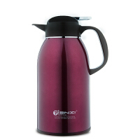 天喜(TIANXI)保温壶 户外保温瓶家用热开水瓶不锈钢真空车载大容量暖旅行水壶2L