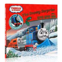 英文原版绘本 Thomas and Friends The Snowy Surprise 托马斯和他的朋友们 儿童图画