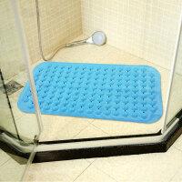 享家炫彩无味环保浴缸浴室防滑垫 36*72㎝ 草绿色浴室地垫 卫生间浴垫 地垫 洗澡脚垫