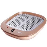 艾美特暖脚器HFW1009迷你取暖器家用宿舍办公室电暖器省电节能无极调温烘脚器