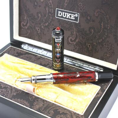 公爵笔专卖 DUKE 公爵510脸谱依金笔 公爵钢笔 优越品质 新生礼品 领导 朋友礼物