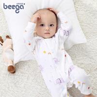 宝宝衣服婴儿宝宝哈衣棉秋装睡衣婴儿连体衣春秋1-2岁宝宝连体衣