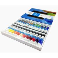 六一 温莎牛顿水彩颜料实惠7件套装 温莎24色水彩颜料温莎 色彩出众 手绘须备颜料