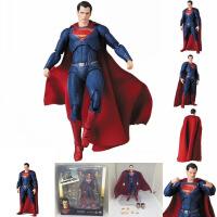正义联盟 DC暗黑MAF蝙蝠侠人神奇女侠 钢铁侠蜘蛛侠可动手办模型 祖国版高约15cm