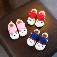 6-12个月冬季婴儿棉鞋春秋机能鞋1-3岁男宝宝鞋子女宝宝学步鞋