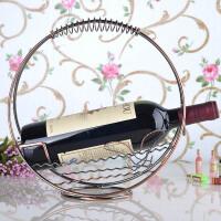 新品创意红酒架摆件酒柜装饰工艺品现代客厅电视柜摆设酒托乔迁新居礼品