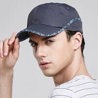 棒球帽 男女士通用速干遮阳帽春夏轻薄透气运动帽 户外运动鸭舌帽