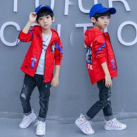 男童外套加绒加厚新款中长款韩版中大童秋冬季休闲男孩风衣
