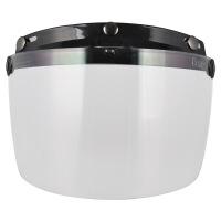 头盔镜片 时尚头盔风镜 头盔防风镜片 防晒镜片
