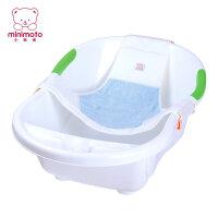婴儿浴巾小米米 浴网婴儿洗澡网网兜儿宝宝浴盆支架防滑沐浴床通用
