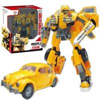 变形玩具金刚黑曼巴新品SS18甲壳虫汽车人大黄蜂 H6001-3黄蜂勇士