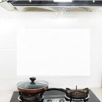 【好货】(6片装90*60CM)厨房防油贴纸透明瓷砖贴耐高温防水防油烟自粘墙贴油烟机防污贴纸 透 图片色