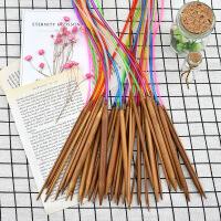 手工编织工具织毛线环形针毛衣毛线针 80CM环型棒针 全套18付