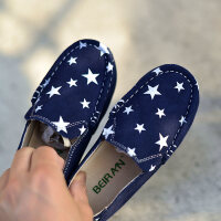 男童单鞋休闲鞋豆豆鞋春秋英伦软底儿童宝宝鞋