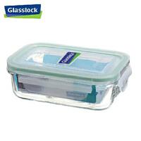 GLASS LOCK 三光云彩 韩国进口钢化玻璃乐扣可微波保鲜盒饭盒RP519  EC4103