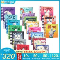 儿童情绪管理图画书全集16本套装 英文原版幼儿启蒙认知 亲子读物 新西兰情绪管理大师特蕾西・莫洛尼经典之作,关注儿童心灵成长,培养孩子健全人格The Things I Love About