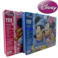 *佳品 联众 迪士尼美劳派128件套装礼盒DM6903绘画套装