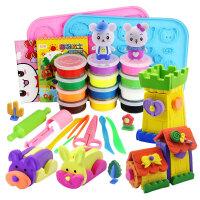 【满199立减100】橙爱 彩泥 我的缤纷乐园超轻粘土3D 儿童手工玩具 橡皮泥创意太空泥 环保安全 儿童玩具礼物