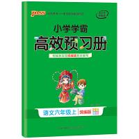 20小学学霸高效预习册-语文六年级上(统编版)
