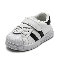 儿童运动小白鞋透气板鞋宝宝春款学步鞋贝壳头男女儿童软底鞋