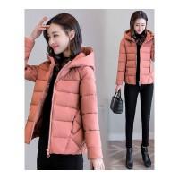 新款轻薄小棉袄女韩版百搭面包服短款棉衣冬季外套矮个子