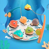 特宝儿 巴哈马磁性钓鱼玩具2-3岁儿童男女孩两岁宝宝益智早教玩具120354