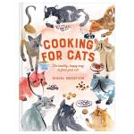 【预订】Cooking for Cats 猫咪食谱 二十道为宠物而设计的菜谱 英文原版