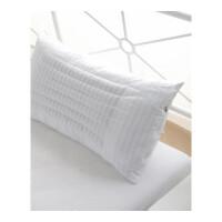宿舍枕头荞麦两用枕芯九孔棉纤维枕头高弹饱满柔软舒适健康枕定制