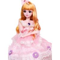 60cm会说话的超大乖乖芭比洋娃娃婚纱套装公主女孩玩具女单个装