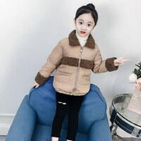女童棉衣2018新款韩版儿童冬装女孩短款棉袄洋气童装加厚棉服冬季