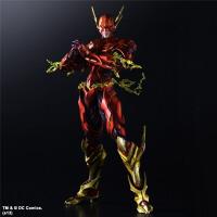 DC正义联盟 PA改 闪电侠 The Flash 可动模型玩具