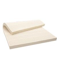泰国进口天然乳胶床垫席梦思乳胶床垫1.2/1.5/1.8米 乳白色 1.5m*2.0m*5cm