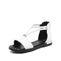 2019夏季新款时尚儿童凉鞋女童公主鞋韩版中大童高跟童鞋