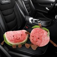 卡通水果可爱车载竹炭包汽车用吸甲醛车内竹炭包新车除味摆件公仔