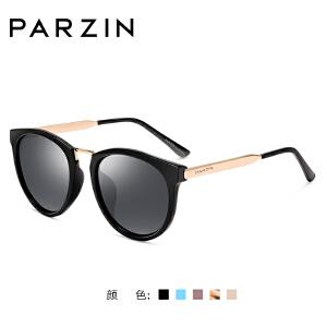 帕森经典复古偏光太阳镜 女潮墨镜大框防紫外线驾驶太阳眼镜 9297