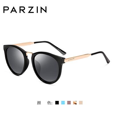 帕森经典复古偏光太阳镜 女潮墨镜大框防紫外线驾驶太阳眼镜