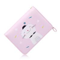 钱包 卡通小清新学生萌妹手拿小钱包女短款折叠可爱猫咪多功能零钱包袋