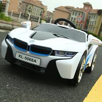 新款儿童电动车四轮遥控童车带摇摆推杆玩具车可坐人男女宝宝汽车zf10