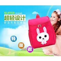 儿童包包 可爱卡通幼儿园宝宝潮背包时尚印花男女童学生书包