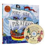 手舞足蹈英语童谣图画书 英文原版 Port Side Pirates 海盗船向左转 廖彩杏有声书单 Barefoot