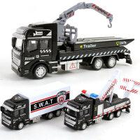 儿童消防车模型带合金回力玩具车套装小汽车男孩男童小朋友小孩子