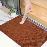 享家素锦年华短毛超纤雪尼尔地垫40*60�M门垫脚垫浴室垫卫生间防滑吸水地毯地垫门垫